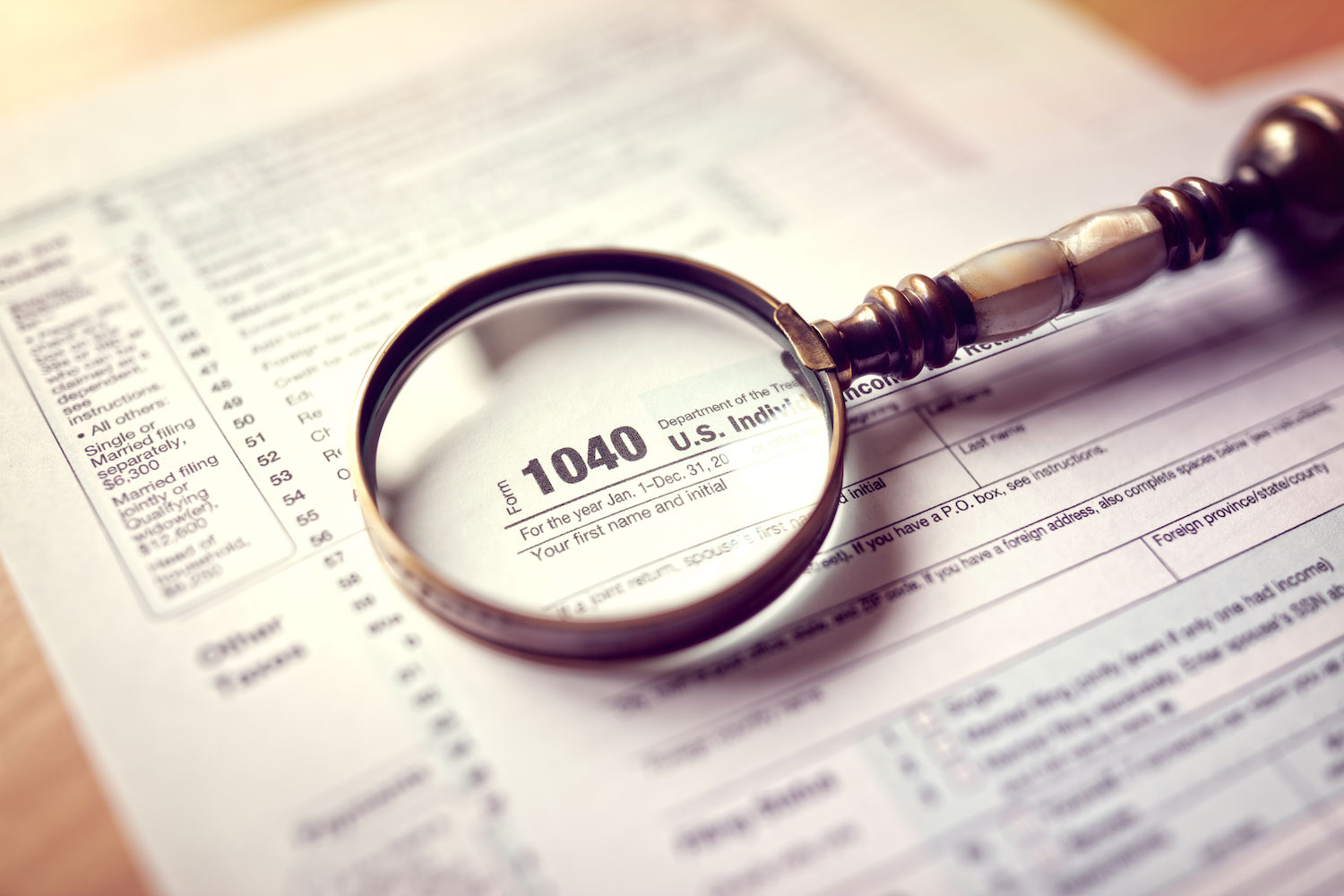 Form 1040 - How to Amend a Tax Return for a Prior Year